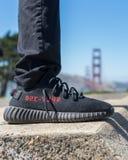 Yezzy-Schuhe stockbild