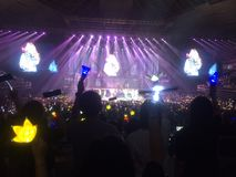 YG οικογενειακή συναυλία στη Σιγκαπούρη Στοκ φωτογραφία με δικαίωμα ελεύθερης χρήσης