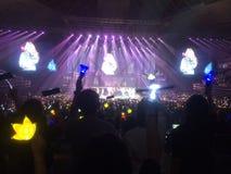 YG-familjkonsert i Singapore Royaltyfri Fotografi