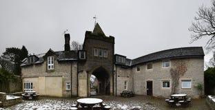 YHA Castleton Losehill Hall, пиковый национальный парк района, Великобритания Стоковые Изображения RF