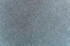 Yhe background, texture of gray striped woolen cloth Stock Image