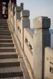 Yi él Yuan, palacio de verano, Pekín, invierno, China Imagen de archivo libre de regalías
