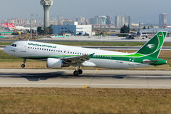 YI-ARA Iraqi Airways Airbus A320-214 Royalty Free Stock Image