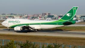 YI-ASA Iraqi Airways, Boeing 747-400 Stockbilder