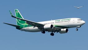 YI-ASG Iraqi Airways, Боинг 737-800 Стоковое Фото
