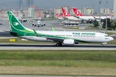 YI-ASG Iraqi Airways, Боинг 737-81Z Стоковые Фотографии RF