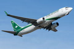 YI-ASU Iraqi Airways, Boeing 737-800 Image libre de droits
