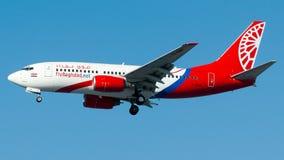 YI-BAN voam Bagdade, Boeing 737-700 Imagem de Stock Royalty Free