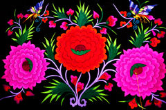 The Yi exquisite embroidery Stock Images