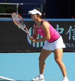 Yi-fan Xu (CHN), tennis player Royalty Free Stock Photos