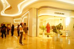 Shenzhen, China: large shopping malls opened, and many people attended the opening ceremony Stock Photography