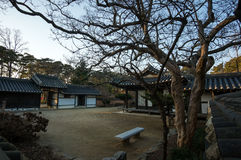 Yi Gwangno House courtyard Royalty Free Stock Image