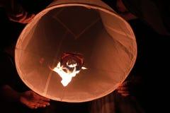 Yi Peng lantern Stock Image