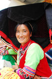 Yi woman in Yunnan Royalty Free Stock Photos