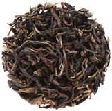 Yi Wu Mountain Wild Arbor Assamica black tea. Isolated royalty free stock photos