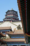 Yi He Yuan, Summer Palace, Beijing, Winter, China Royalty Free Stock Photo