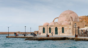 Yiali Tzami Turkish mosque Chania Crete Royalty Free Stock Image