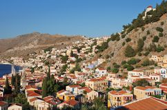 Yialos, Symi Island Royalty Free Stock Photos