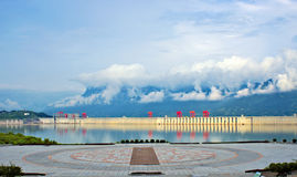 Yichang Three Gorges Dam Royalty Free Stock Photos