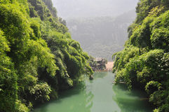 Yichang Three Gorges scenery Stock Images