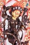 Yidam Czerwony Tara w Vajrayogini kształcie zdjęcie stock