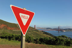 Yield to the tempation of San Francisco Stock Photography