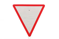 Free Yield Traffic Sign Stock Images - 37835704