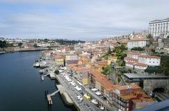 Yiew de Oporto Fotografía de archivo libre de regalías