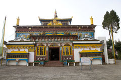 Yiga Choeling kloster, Darjeeling, Indien Royaltyfria Bilder