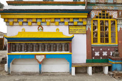 Yiga Choeling kloster, Darjeeling, Indien Royaltyfria Foton