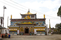 Yiga Choeling Monastery, Darjeeling, India Royalty Free Stock Images