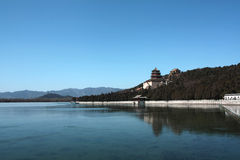 Yiheyuan Lake Royalty Free Stock Images