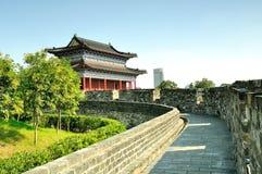 Yijiang stadsport arkivbild