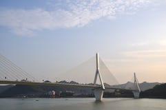 Yiling长江桥梁13 免版税库存图片