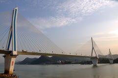 Yiling长江桥梁14 免版税图库摄影