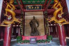 Yiling Huangling Dayu Świątynna świątynia Obraz Royalty Free