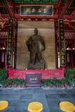 Yiling Huangling Dayu Świątynna świątynia Zdjęcia Royalty Free