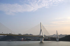 Yiling Yangtze river bridge 13 Royalty Free Stock Images
