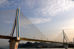 Yiling Yangtze river bridge 16 Stock Image