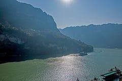 Yiling Yangtze River Three Gorges Dengying Gorge Royalty Free Stock Photography