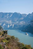 Yiling Yangtze River Three Gorges Dengying Gorge Royalty Free Stock Photography