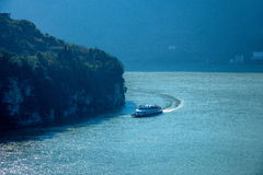 Yiling Yangtze River Three Gorges Dengying Gorge Stock Image