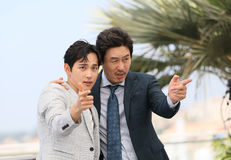 Yim Si-wan L and Kyoung-gu Sul Royalty Free Stock Image