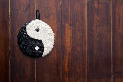 Yin和杨符号 库存图片
