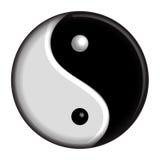 Yin杨符号 免版税库存图片