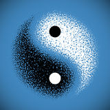 Yin杨符号 免版税图库摄影