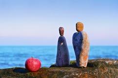 Yin και Yang Στοκ εικόνα με δικαίωμα ελεύθερης χρήσης