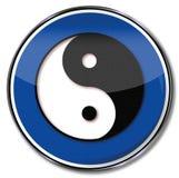 Yin και yang Στοκ Εικόνες