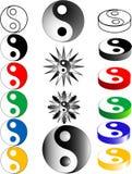杨yin 向量例证