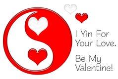 yin d'amour votre Photographie stock